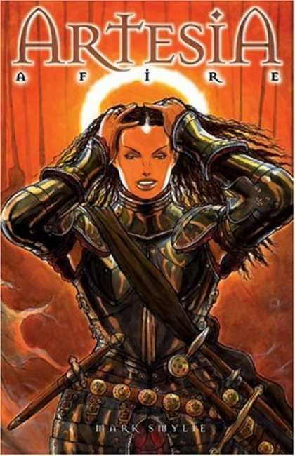 Bestselling Comics (2006) - Artesia Volume 3: Afire - The Third Book Of Dooms (Artesia) by Mark S. Smylie - Mark Smylie - Woman - Soldier - Costume - Knife