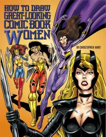 Bestselling Comics (2006) 3168 - Christopher Hart - Comic Book Women - How To Draw - Drawing - Instructions