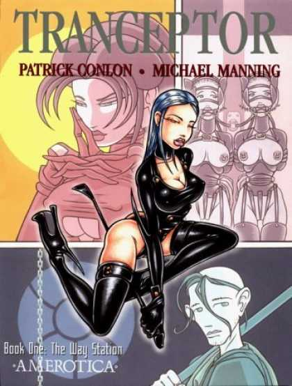 Bestselling Comics (2006) - Tranceptor: The Way Station (Tranceptor Series) by Michael Manning - Book One The Way Station - Patrick Conlon - Michael Manning - Amerotica
