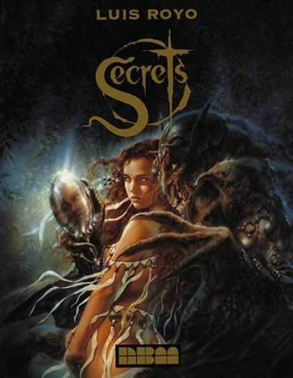 Bestselling Comics (2006) - Secrets by Luis Royo - Luis Royo - Secrets - Girl - Monster - Mirror