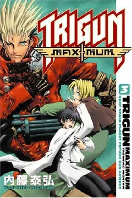 Bestselling Comics (2006) - Trigun Maximum Volume 3: His Life As A. . . (Trigun Maximum (Graphic Novels)) by - Yashurio - Trigun - Gun - Deep Space - Maxium