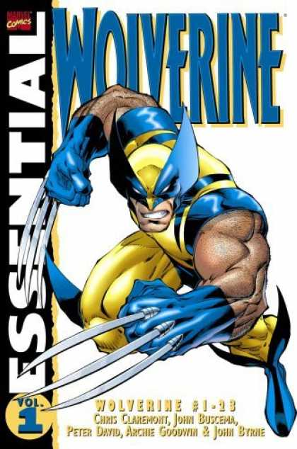 Bestselling Comics (2006) - Essential Wolverine, Vol. 1 (Marvel Essentials) by Chris Claremont - Wolverine - X-men - Wolf - Claws - Yellow Costume