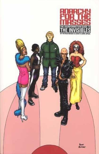 Bestselling Comics (2006) - Anarchy For The Masses: The Disinformation Guide to The Invisibles by Patrick Ne - Mod Squad - White Boots - Five - Red Afro - Yellow Skirt