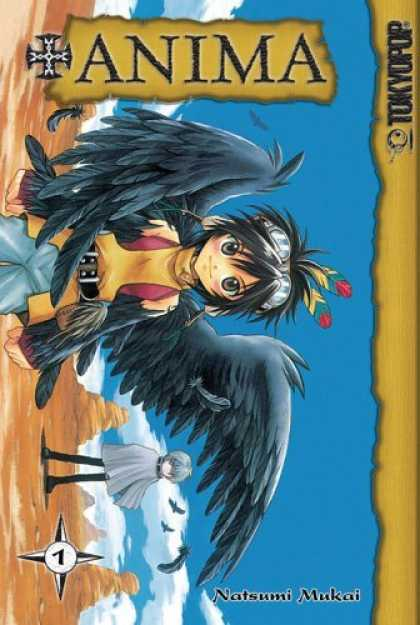 Bestselling Comics (2006) - +ANIMA (Vol. 1) by Karen S. Ahlstrom - Wings - Anima - Manga Girl - Tokyogroup - Desert