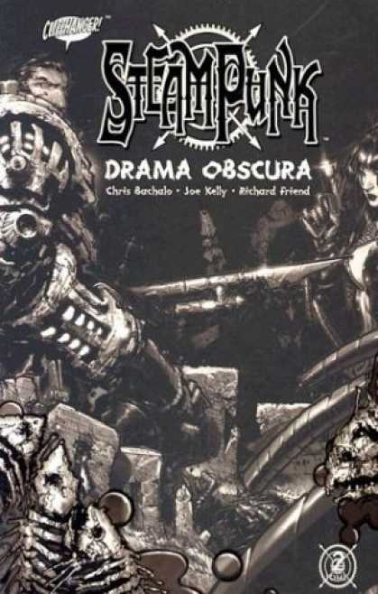Bestselling Comics (2006) - Steam Punk: Drama Obscura by Joe Kelly - Steampunk - Drama Obscura - Skeleton - Woman - Joe Kelly