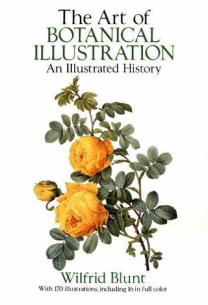 Bestselling Comics (2006) - The Art of Botanical Illustration: An Illustrated History by Wilfrid Blunt - Yellow Roses - Botanical Illustration - Thorns - Leaves - Buds