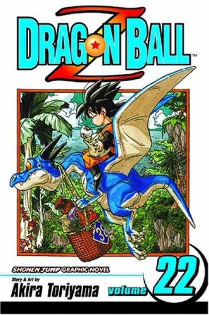 Bestselling Comics (2006) - Dragon Ball Z, Volume 22 (Dragon Ball Z) - Dragon Ball Z - Anime - Jungle - Basket - Akira Toriyama