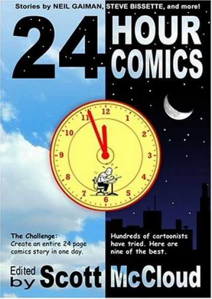 Bestselling Comics (2006) 3215 - 24 Hour - Moon - Clock - Sky - Scott Mccloud