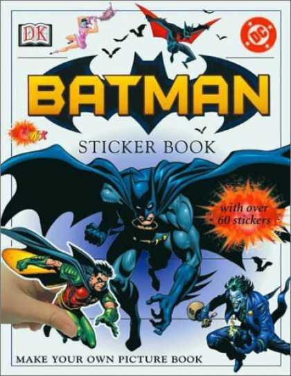 Bestselling Comics (2006) - Batman Sticker Book by DK Publishing