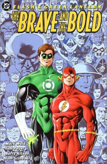 Bestselling Comics (2006) - Flash & Green Lantern: The Brave and the Bold by Mark Waid - The Brave And The Bold - Green Latern - Flash - Muscles - Mask