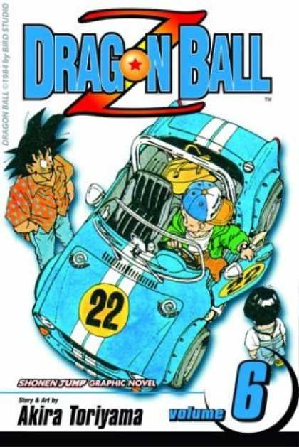 Bestselling Comics (2006) - Dragon Ball Z, Vol. 6 - Racing Car - Stripes - Cool Dude - Japan - Number 22