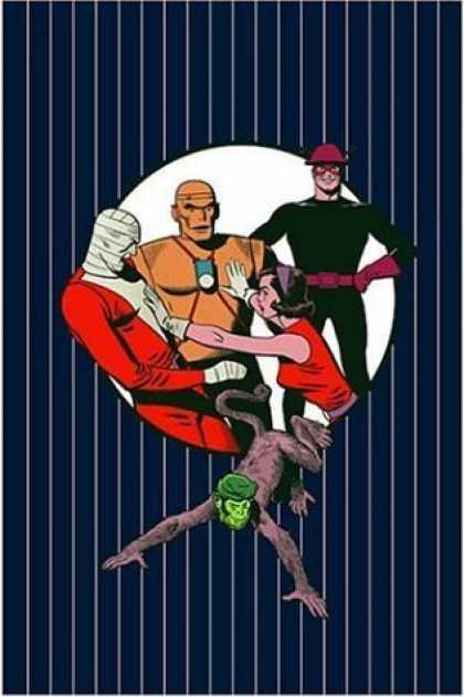 Bestselling Comics (2006) - The Doom Patrol Archives, Vol. 3 (DC Archive Editions) by Arnold Drake - Green Headed Monkey - Man Wrapped In Bandages - Woman In Red Blouse - Gloves - Man With Black Uni And Hard Hat