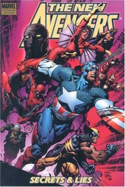 Bestselling Comics (2006) - New Avengers Vol. 3: Secrets and Lies by Brian Michael Bendis - Marvel - Secrets U0026 Lies - Captain America - Wolverine - Spiderman