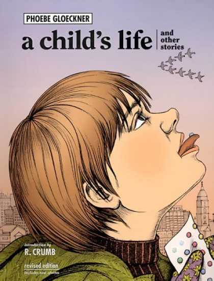 Bestselling Comics (2006) - A Child's Life and Other Stories by Phoebe Louise Adams Gloeckner - Phoebe Gloeckner - R Crumb - Revised Edition - Birds Flying - Cityscape