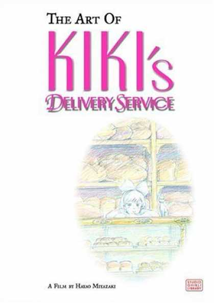 Bestselling Comics (2006) - Art of Kiki's Delivery Service: A Film by Hayao Miyazaki by Hayao Miyazaki - The Art Of Kikis - Shop - Girl - Window - Sweets