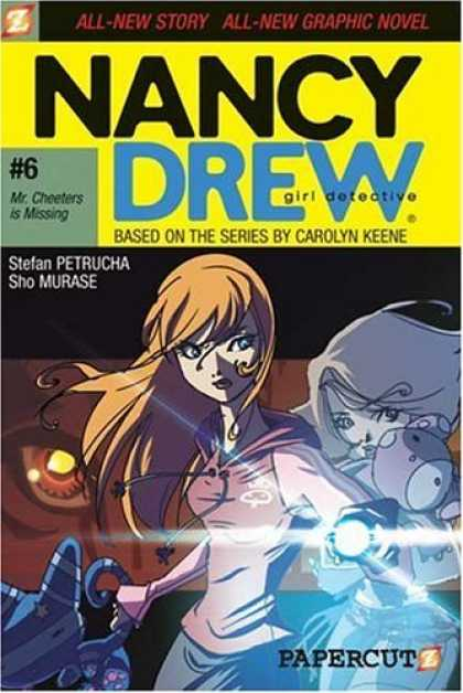 Bestselling Comics (2006) - Nancy Drew #6: Mr. Cheeters Is Missing (Nancy Drew: Girl Detective) by Stefan Pe