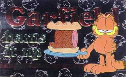 Bestselling Comics (2006) - Garfield Hams It Up (Garfield (Numbered Paperback)) by Jim Davis - Garfield - Ham - Fat Cat - Sandwich - Orange Cat