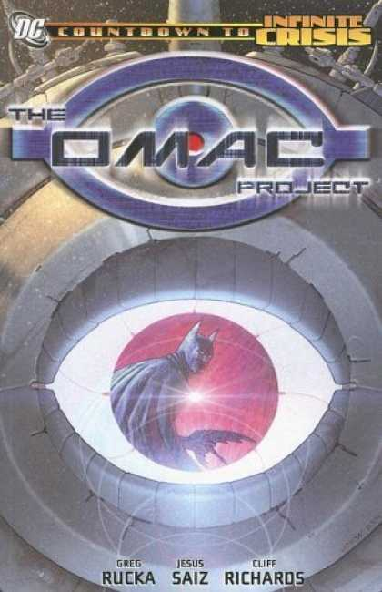Bestselling Comics (2006) - The OMAC Project (Infinite Crisis) (Countdown to Infinite Crisis) by Greg Rucka - Batman - Big Iris - Eyeball - Space - Giant