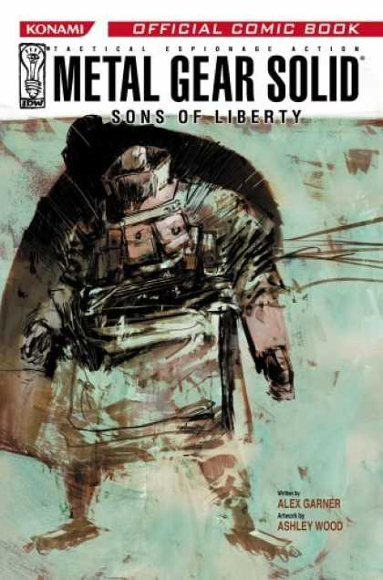 Bestselling Comics (2006) - Metal Gear Solid: Sons Of Liberty: Volume One (Metal Gear Solid) by Alex Garner
