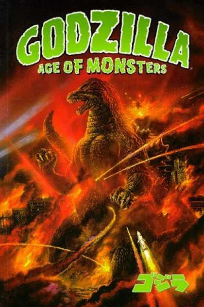 Bestselling Comics (2006) - Godzilla: Age of Monsters by Randy Stradley - Japanese - Dinosaur - War - Giant - Destruction