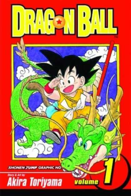 Bestselling Comics (2006) - Dragon Ball, Vol. 1 - Japanese - Anime - Dragon - Yellow Robe - Red Pole