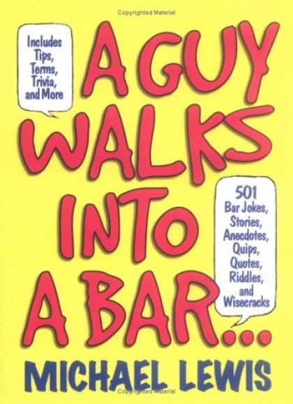 Bestselling Comics (2006) 3361 - Includes Tips - A Guy Walks Into A Bar - Michael Lewis - Copyrited Material - 501 Bar Jokes