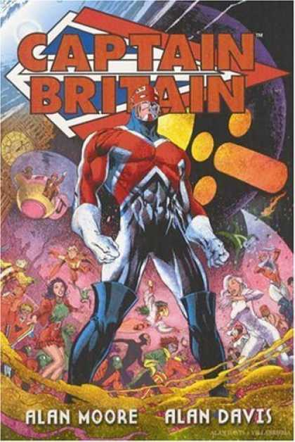 Bestselling Comics (2006) - Captain Britain TPB by Alan Moore