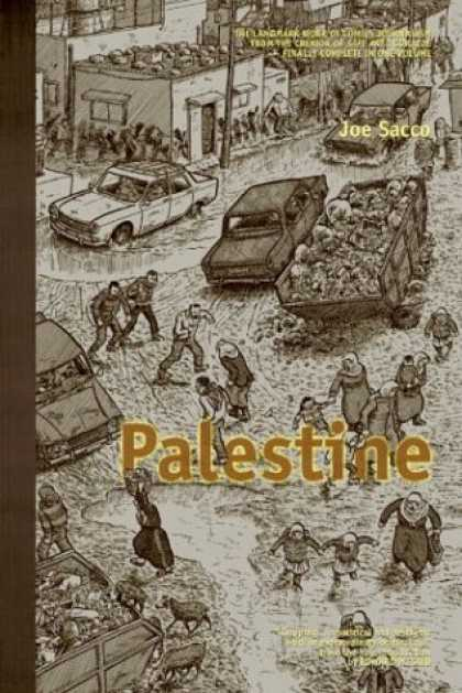 Bestselling Comics (2006) - Palestine by Joe Sacco