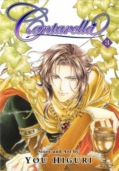 Bestselling Comics (2006) - Cantarella Volume 3 (Cantarella) by You Higuri - Cantarella - You Higuri - Chalice - Gold Chain - Prince