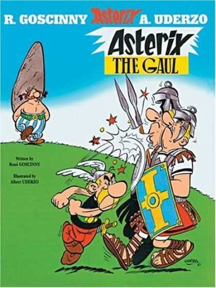 Bestselling Comics (2006) - Asterix the Gaul (Asterix) by Rene Goscinny - Asterix - France - Cartoon - Historical - Rome