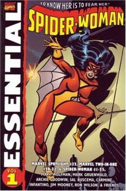 Bestselling Comics (2006) - Essential Spider-Woman, Vol. 1 (Marvel Essentials) by Marv Wolfman - Spotlight - Marv Goodman - Carmine Infantino - Archie Goodwin - Jim Mooney