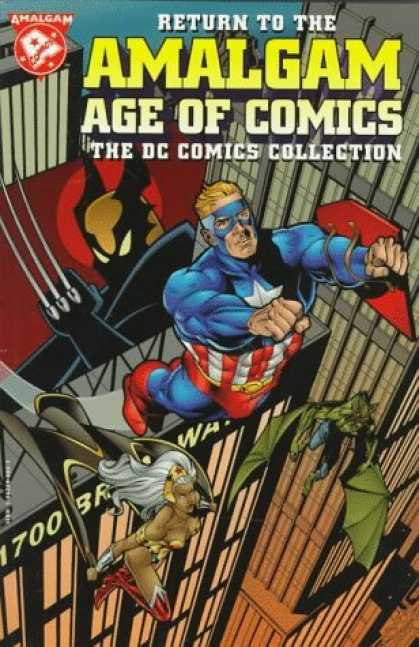 Bestselling Comics (2006) 3428 - Amalgam - Super Heroes - Collection - Captain America - Wolverine