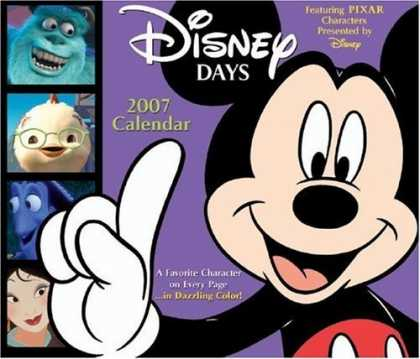 Bestselling Comics (2006) - Disney Days 2007 Day-to-Day Calendar by Disney - 2007 Calendar - Mickey Mouse - Mulan - Pixar Characters - Monster