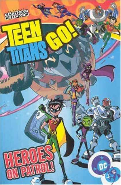 Bestselling Comics (2006) - Teen Titans Go!: Heroes on Patrol - Volume 2 (Teen Titans Go (Graphic Novels)) b