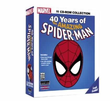 Bestselling Comics (2006) - 40 Years Of The Amazing Spider-Man Win/Mac - Blue Box - Cd-rom - 40 Years - Spider-man - Look Inside