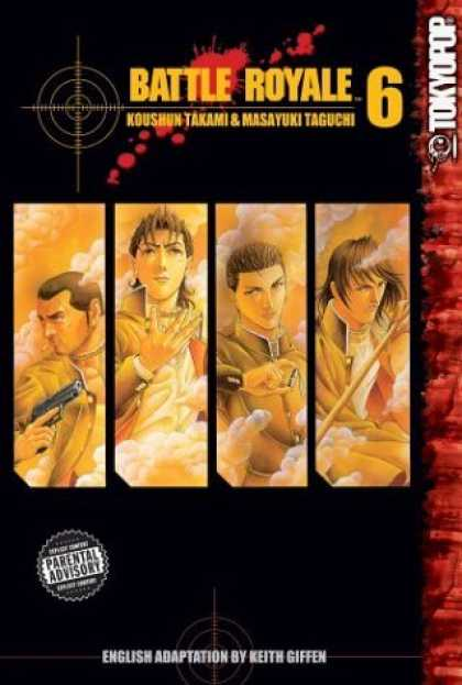 Bestselling Comics (2006) - Battle Royale, Vol. 6 by Koushun Takami