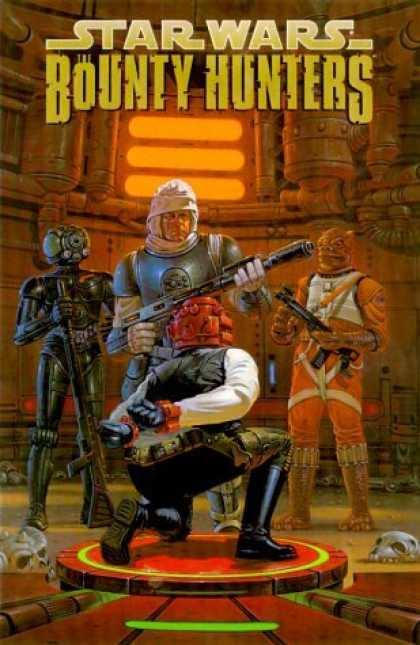 Bestselling Comics (2006) - Star Wars: Bounty Hunters by Andy Mangels - Robot - Creature - Men - Guns - Skulls