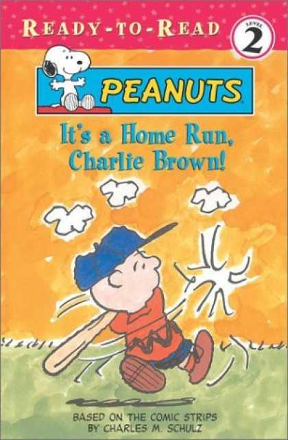 Bestselling Comics (2006) - It's A Home Run, Charlie Brown! (Peanuts) - Charles M Schulz - Charlie Brown - Baseball - Its A Home Run Charlie Brown - Bat