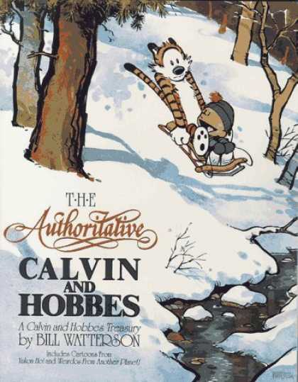 Bestselling Comics (2006) - The Authoritative Calvin and Hobbes (Calvin and Hobbes (Paperback)) by Bill Watt - The Authorilative - Calvin And Hobbes - Bill Waterson - Tiger - Winter