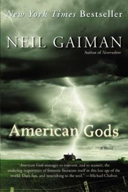 Bestselling Comics (2006) - American Gods: A Novel by Neil Gaiman