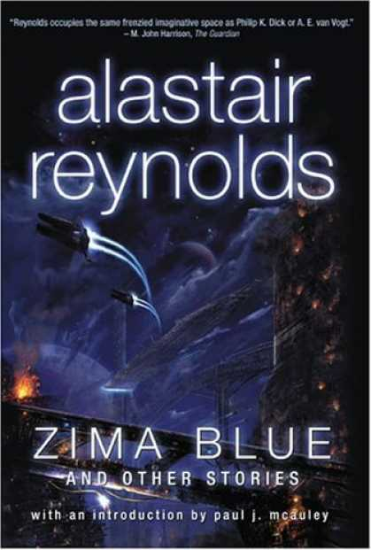 Bestselling Comics (2006) - Zima Blue and Other Stories by Alastair Reynolds