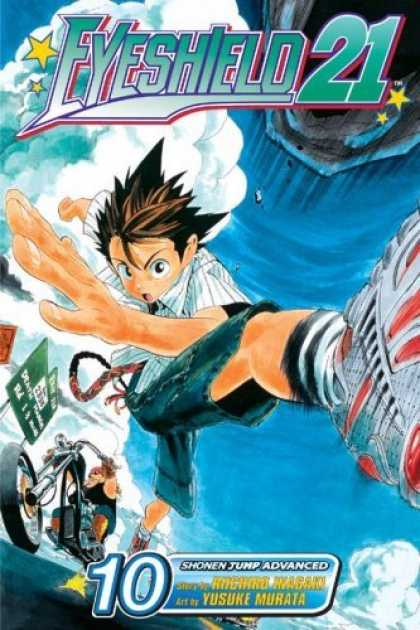 Bestselling Comics (2006) - Eyeshield 21, Volume 10 (Eyeshield 21 (Graphic Novels)) by Riichiro Inagaki