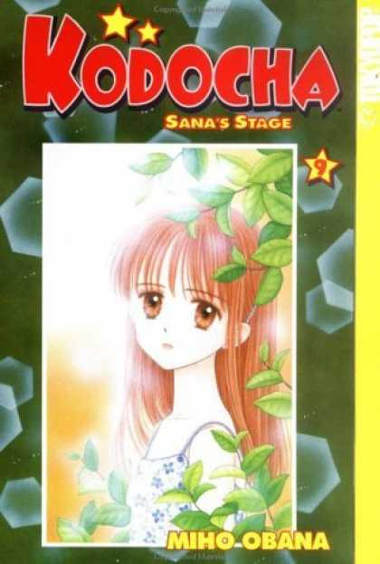Bestselling Comics (2006) - Kodocha: Sana's Stage, Book 9 by Miho Obana - Kodocha - Sanas Stage - Girl - Brown Eyes - Leaves