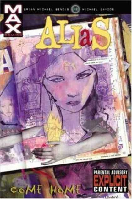 Bestselling Comics (2006) - Alias Vol. 2: Come Home by Brian Michael Bendis - Max - Max Comics - Women - Drawing - Come Home