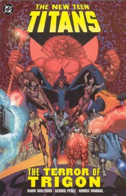 Bestselling Comics (2006) - The New Teen Titans: The Terror of Trigon by Marv Wolfman