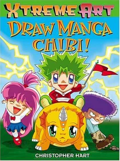 Bestselling Comics (2006) - Draw Manga Chibi! (Xtreme Art) by Christopher Hart - Xtreme Art - Draw Manga Chibi - Flag - Christopher Art - Tortoise