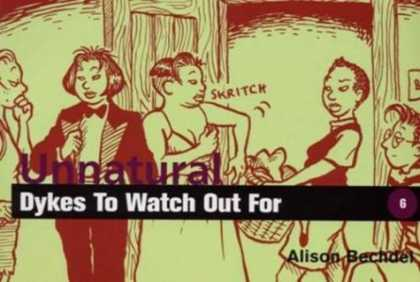 Bestselling Comics (2006) - Unnatural Dykes to Watch Out for (Dykes to Watch Out for) by Alison Bechdel - Dykes - Laundry Basket - Scratching Underarm - Tuxedo - Young Boy With Glasses