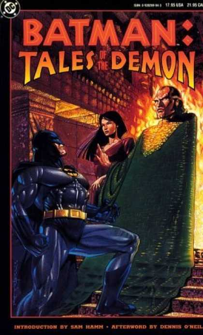 Bestselling Comics (2006) - Batman: Tales of the Demon by Dennis O'Neil - Sam Hamm - Dennis Oneil - Tales Of The Demon - Fire - One Woman