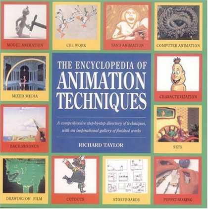 Bestselling Comics (2006) - Encyclopedia of Animation Techniques by Richard Taylor