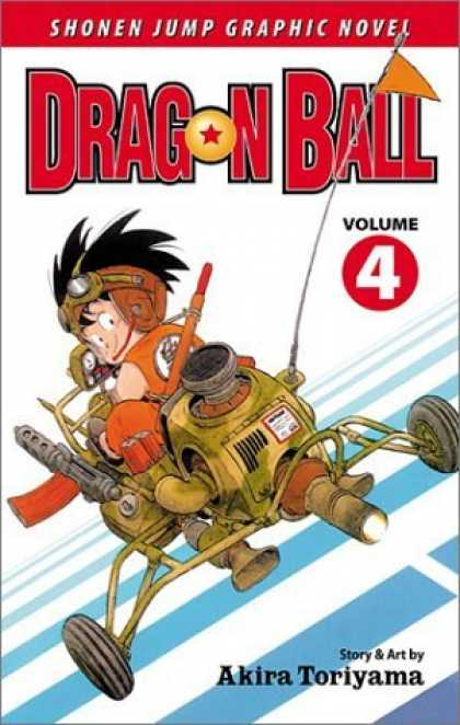 Bestselling Comics (2006) - Dragon Ball, Vol. 4 - Shonen Jump - Graphic Novel - Dragon Ball - Akira Toriyama - Volume 4
